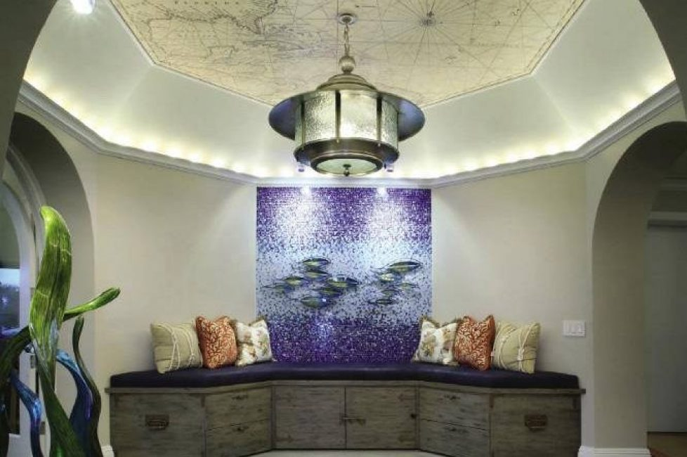 Magic Murals can be used on walls and ceilings.