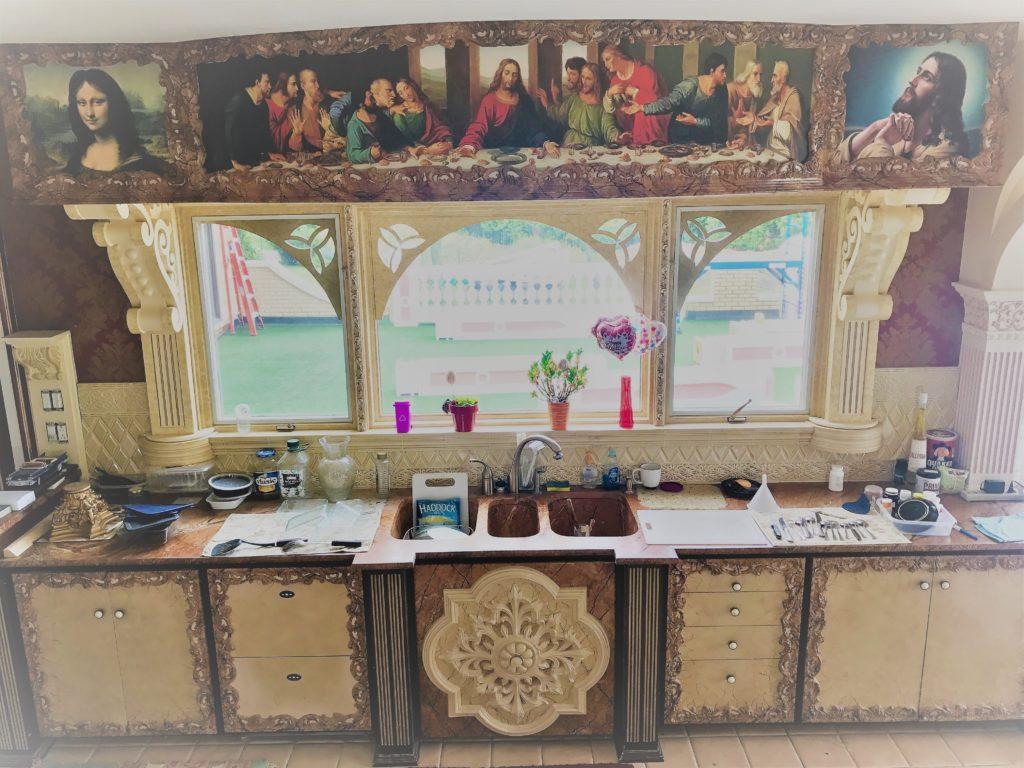 Franco-U-custom-sized-last-supper-wall-mural-by-magic-murals