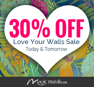 Love Your Walls & Save 30% Too!