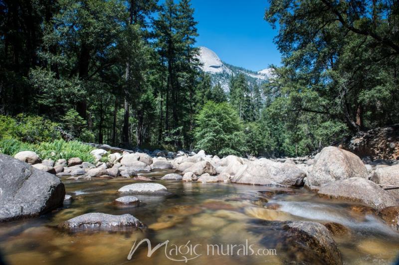 Yosemite Flow Mural Wallpaper