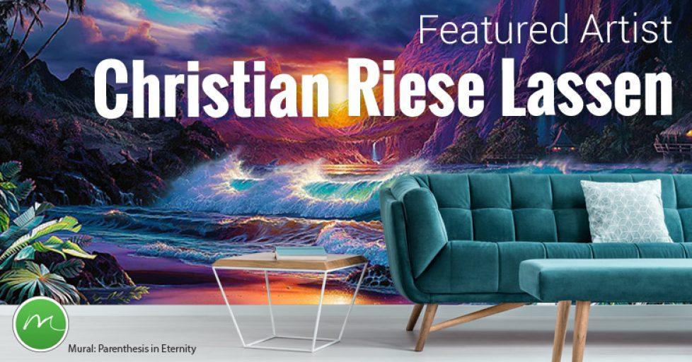 Christian Riese Lassen, Wall Murals, Art