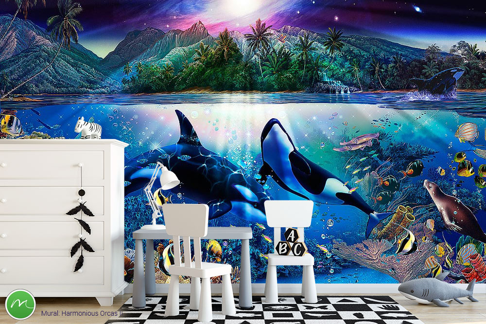Christian Riese Lassen Art Magic Murals
