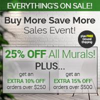 Buy More & Save More at Magic Murals