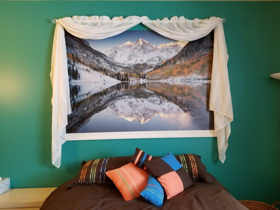 Framing Nature Wall Murals for the Home