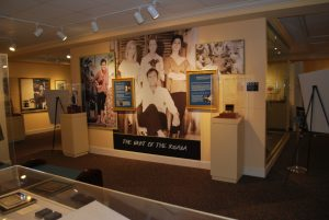 "The ""Night of the Iguana,"" display is on permanent exhibit."