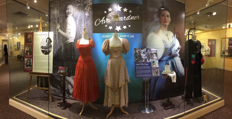 Fashion features highly in all of the exhibits at the Ava Gardner Museum.