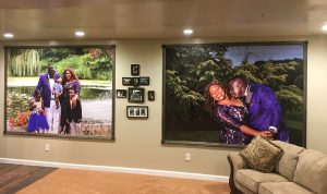 Turn your fondest memories into wallpaper murals that will remind you every day how lucky you are.