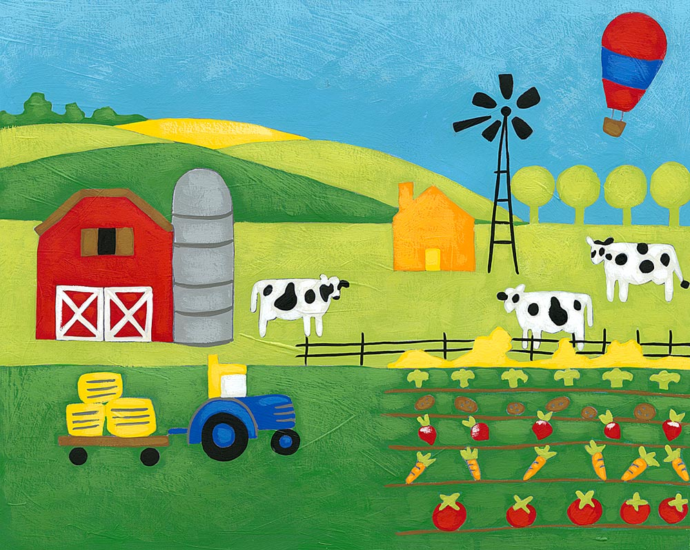 farm wall decals totally kids totally bedrooms kids bedroom ideas farm wall mural scenes