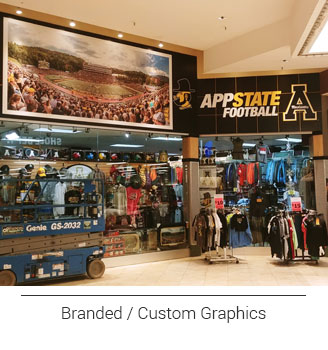 Sports Fanatic Retail Store Entry Signage