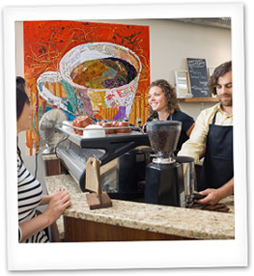 Coffee Bar Polaroid