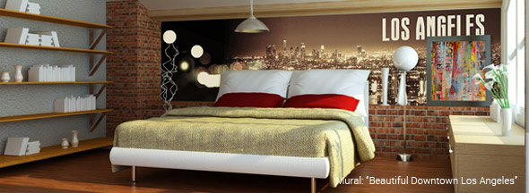 bedroom murals - wall murals for bedrooms