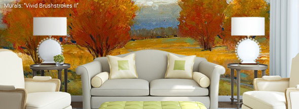 Living Room Wall Murals living room murals - wall murals for the living room