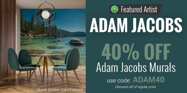 40% OFF Adam Jacobs Murals