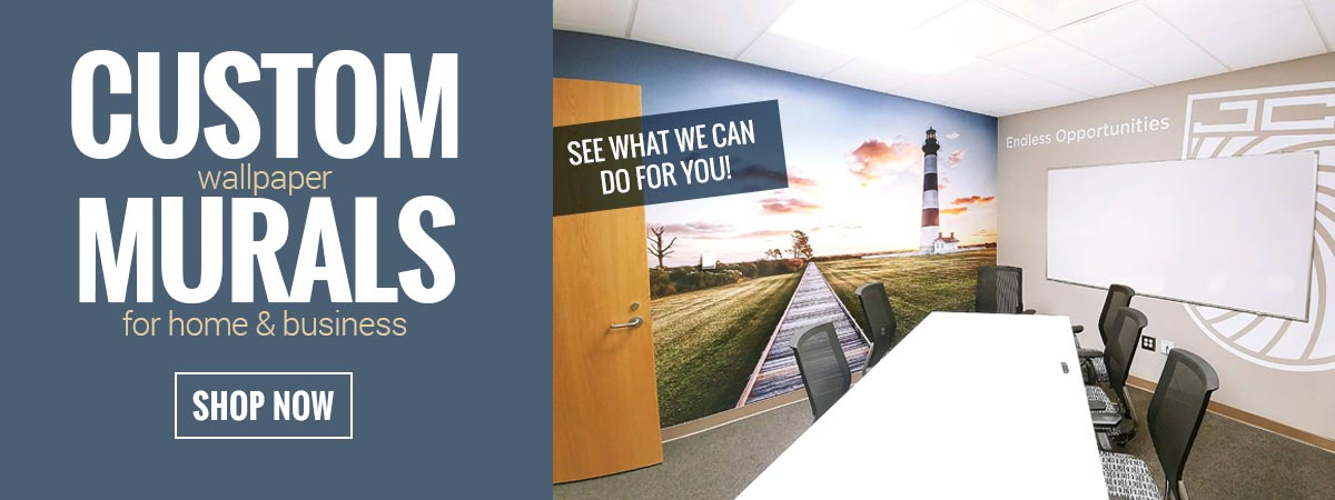 Custom Wallpaper Murals for Home & Business