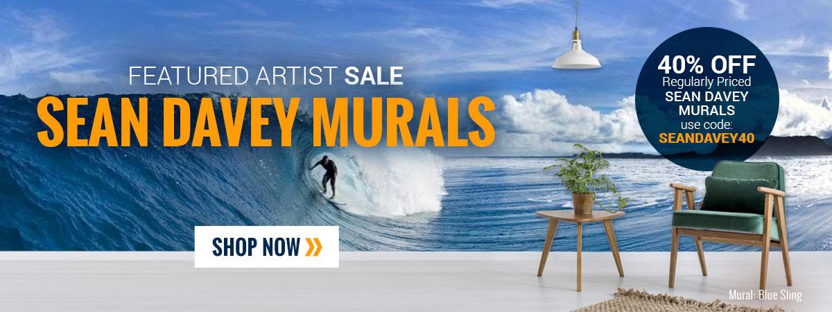 Sean Davey Wallpaper Murals Sale