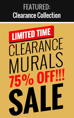 Shop Single Edition Clearance Mural Sale Collection!