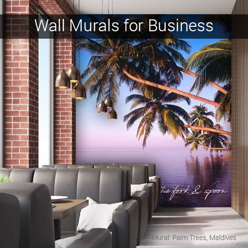 Wall murals for businesses