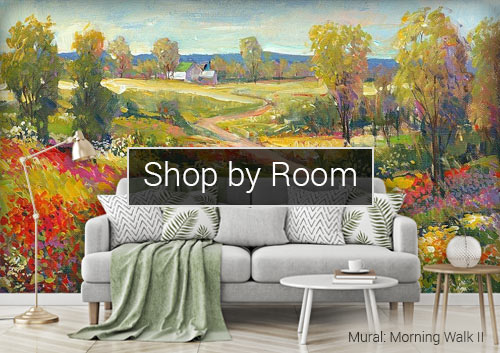 Shop murals by room
